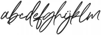 Maitland Script Italic otf (400) Font LOWERCASE