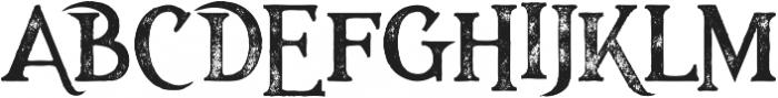 Majestic Black Grunge otf (900) Font UPPERCASE
