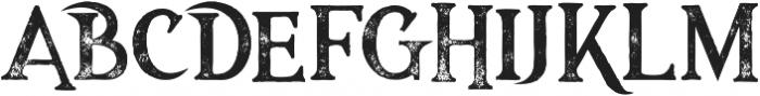 Majestic Black Grunge otf (900) Font LOWERCASE