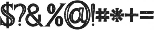 Majestic Bold Inline Grunge otf (700) Font OTHER CHARS