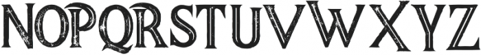 Majestic Bold Inline Grunge otf (700) Font LOWERCASE