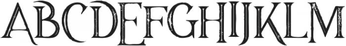Majestic Inline Grunge otf (400) Font UPPERCASE
