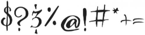 Majestic Palm Regular otf (400) Font OTHER CHARS