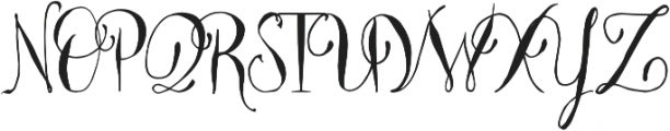 Majestic Palm Regular otf (400) Font UPPERCASE