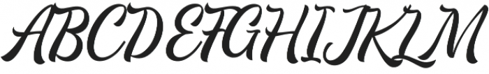 Majestika Script otf (400) Font UPPERCASE