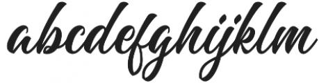 Majestika Script otf (400) Font LOWERCASE