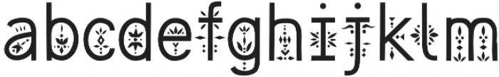 Majolica Font otf (400) Font LOWERCASE
