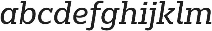 Majora Pro Regular It otf (400) Font LOWERCASE