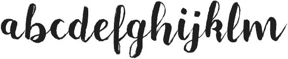 Majorelle otf (400) Font LOWERCASE