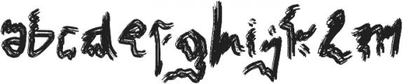 Mak Enyoi otf (400) Font LOWERCASE