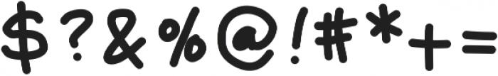 MakerMarker ttf (400) Font OTHER CHARS