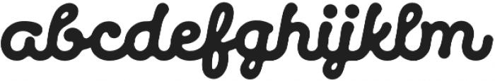Makers Script Regular otf (400) Font LOWERCASE