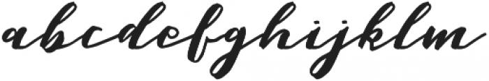 Malaga Diary otf (400) Font LOWERCASE
