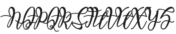Malakat otf (400) Font UPPERCASE