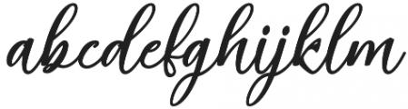 Malakat otf (400) Font LOWERCASE