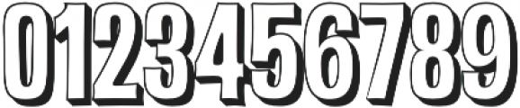 Malamondo 3D Regular otf (400) Font OTHER CHARS