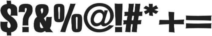 Malamondo Expanded Bold Regular otf (700) Font OTHER CHARS