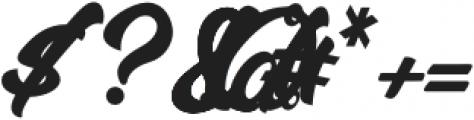 MalanayaScript otf (400) Font OTHER CHARS