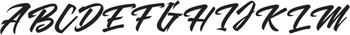 MalanayaScript otf (400) Font UPPERCASE