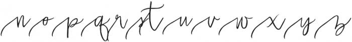 Malarkey Long Swash otf (400) Font LOWERCASE