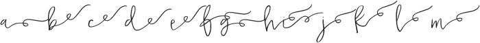 Malarkey Loop Swashes otf (400) Font UPPERCASE