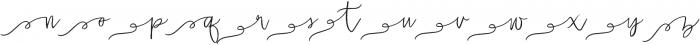 Malarkey Loop Swashes otf (400) Font LOWERCASE