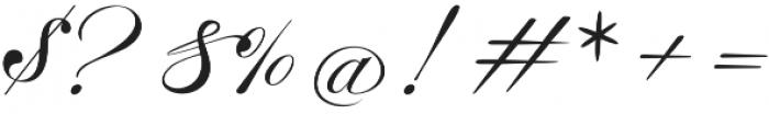 Malbrock otf (400) Font OTHER CHARS