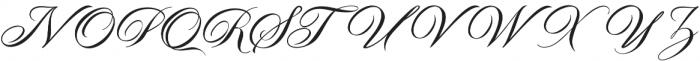 Malbrock otf (400) Font UPPERCASE
