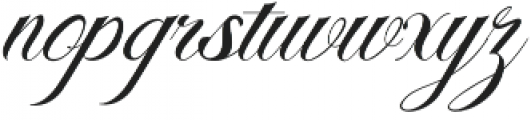 Malbrock otf (400) Font LOWERCASE