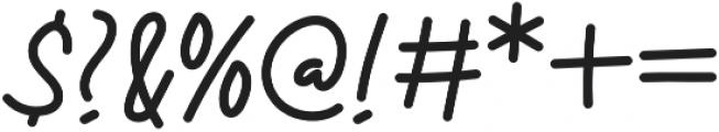 Maldisa otf (400) Font OTHER CHARS