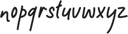 Maldisa otf (400) Font LOWERCASE