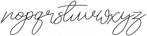 Maldonis otf (400) Font LOWERCASE