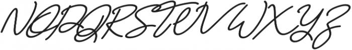 Maldonis otf (700) Font UPPERCASE