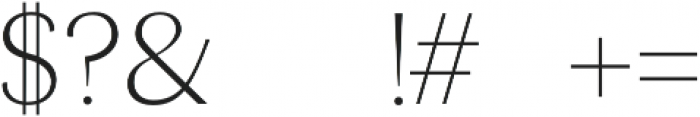 Maleah- otf (400) Font OTHER CHARS