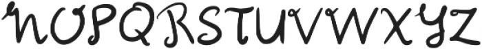 Mali Regular otf (400) Font UPPERCASE