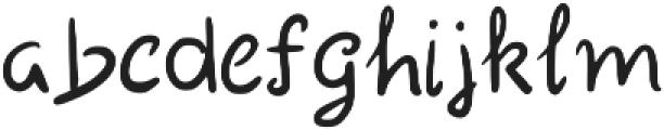 Mali Regular otf (400) Font LOWERCASE