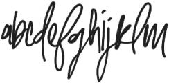 Malibu Alternate otf (400) Font LOWERCASE