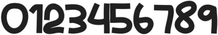 Malibu Night otf (400) Font OTHER CHARS