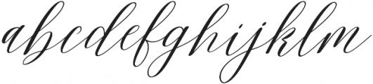 Malibu  Ring otf (400) Font LOWERCASE