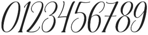 Malibu Slant otf (400) Font OTHER CHARS