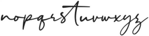 Malibu Sunset Script otf (400) Font LOWERCASE