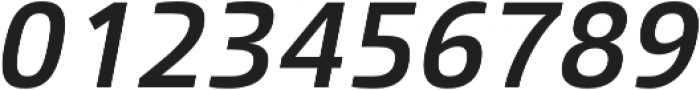 Malino SemiBold Italic otf (600) Font OTHER CHARS