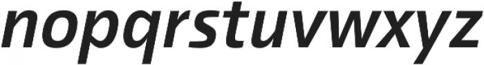 Malino SemiBold Italic otf (600) Font LOWERCASE