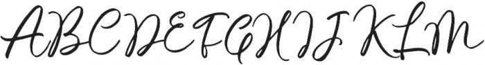 Malisso otf (400) Font UPPERCASE