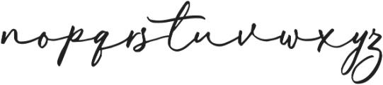 Malisso otf (400) Font LOWERCASE