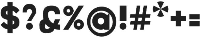 Mallard Bold otf (700) Font OTHER CHARS