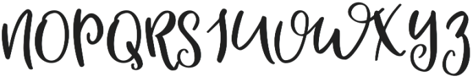Mallory Script otf (400) Font UPPERCASE