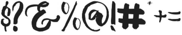 Mallows Regular otf (400) Font OTHER CHARS