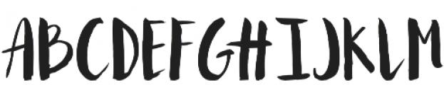 Mallows Regular otf (400) Font UPPERCASE