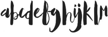 Mallows Regular otf (400) Font LOWERCASE